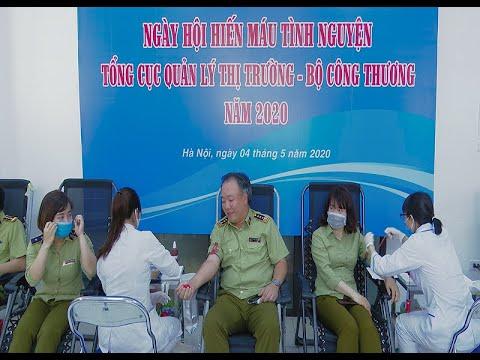 Lực lượng Quản lý thị trường Bộ Công Thương phát động chương trình hiến máu tình nguyện 2020