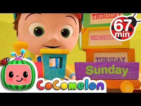 Days Of The Week | +More Nursery Rhymes & Kids Songs - CoCoMelon
