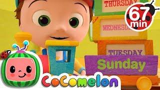 Video Days of the Week   +More Nursery Rhymes & Kids Songs - CoCoMelon MP3, 3GP, MP4, WEBM, AVI, FLV Juni 2019