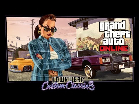 Grand Theft Auto Online – Lowriders: Custom Classics DLC – HD Gameplay Trailer
