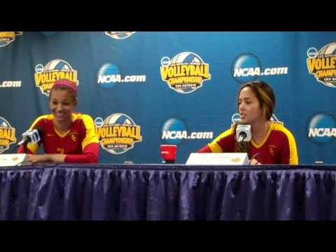 USC Women's Volleyball - 2011 NCAA Final Four Press Conference - December 14