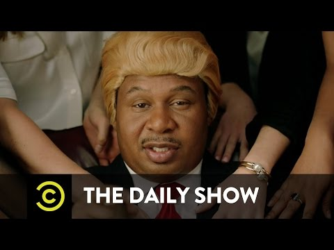 The Daily Show - Black Donald Trump