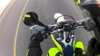 6. 2016 husqvarna fe 350s first ride #rekluse