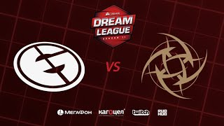 Evil Geniuses vs NiP, DreamLeague Season 11 Major, bo3, game 1 [Adekvat & Inmate]