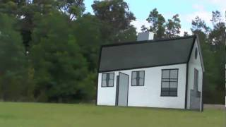 Roy Lichtenstein optical illusion house, Sydney - YouTube