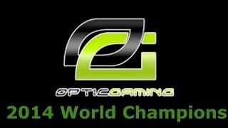 OPTIC WON COD CHAMPS!!!! (Call of Duty Championship 2014)