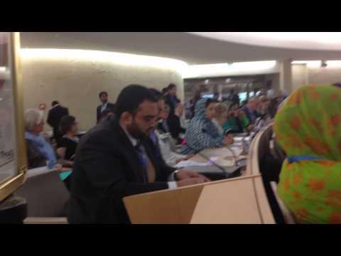 نشاط المعارضة في مجلس حقوق الانسان في جنيف: الأوضاع الحقوقية متردية والتعذيب مستمر والسجون مكتظة