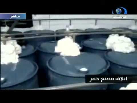 Polis Agama Saudi, memusnahkan tempat penyembunyian arak - di negara tauhid - Saudi Arabia