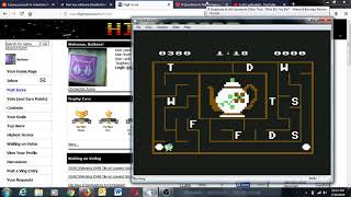 Alphabet Zoo [Level 4 / Game 1 / Uppercase] (Commodore 64 Emulated) by Buttons