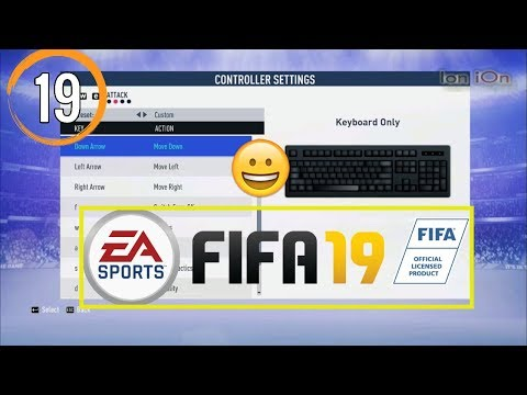 Fifa 19 Keyboard Buttons TUTORIAL