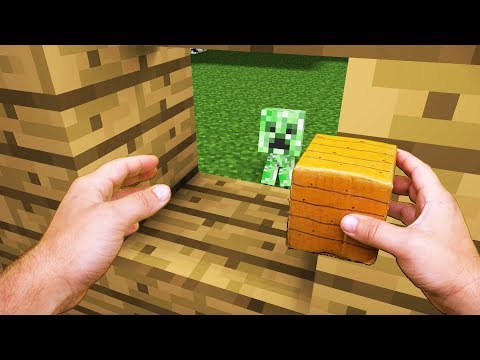 Realistic Minecraft Life: Creeper Kid - Minecraft Animation (видео)
