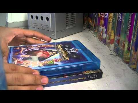 Snow White And The Seven Dwarfs Blu Ray Unboxing