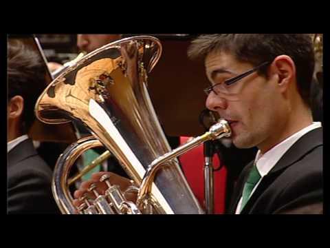 The Magnetic Mountain de Mario Bürki (Unión musical de Cabral) (видео)