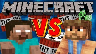 Herobrine vs Chuck Norris - Interactive Minecraft Video