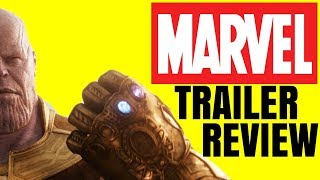 The Thanos Question - Avengers: Infinity War Trailer Review