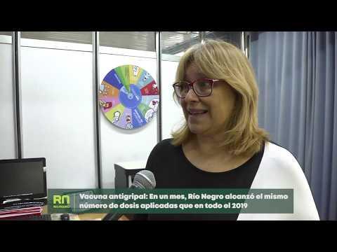 Vacuna antigripal En un mes, Río Negro alcanzó el mismo número de dosis aplicadas que en el 2019