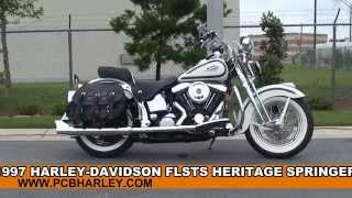 8. Used 1997 Harley Davidson Heritage Softail Springer Motorcycles for sale - Chipley, FL
