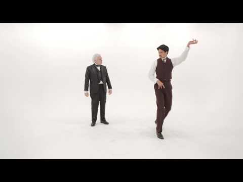 Nikola Tesla vs Thomas Edison.  Epic Dance Battles Of History