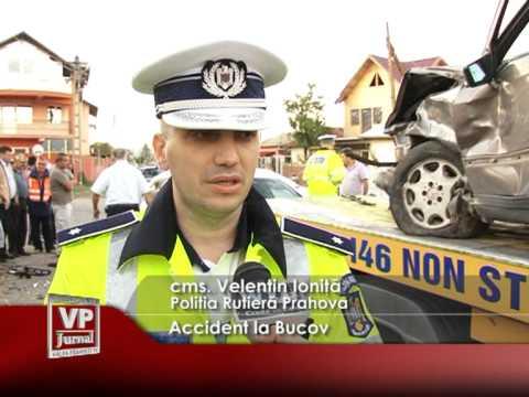 Accident la Bucov