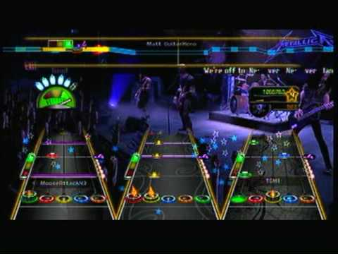 Guitar Hero Metallica Enter Sandman Full Band FC 1st Place