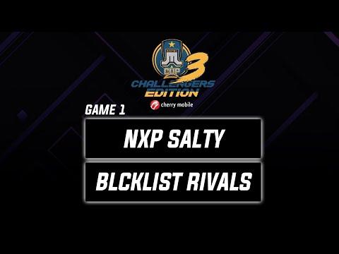 NXP Predator Salty vs Blcklst Rivals Game 1 Just ML Challengers Edition 3 (BO3) | Mobile Legends