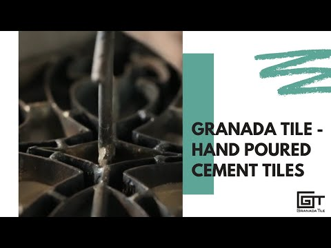 Granada Tile - Hand Poured Cement Tiles