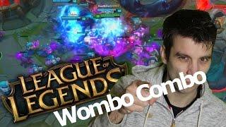 5 man WOMBO COMBO!! League of Legends!!