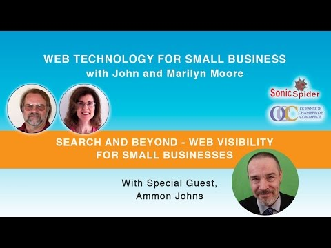 , title : 'Search and Beyond - Web Visibility for Small Businesses'