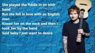 Ed Sheeran - Galway Girl LYRICS VIDEO