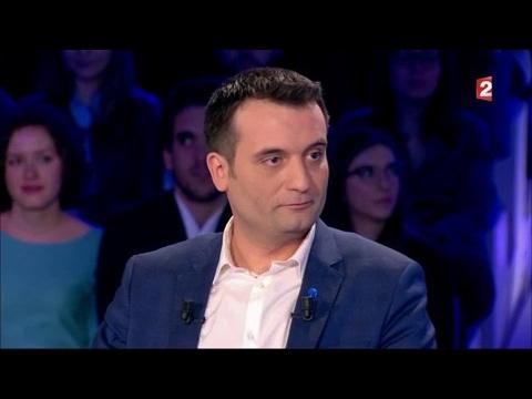 Florian Philippot - On n'est pas couché 18 mars 2017 #ONPC