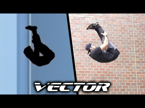 Vector ALL TRICKS In Real Life (Parkour Game, Bonus)