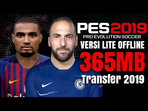 Download Pes 2019 Lite HD 300 MB New Update Winter Transfer 2018/19 | PPSSPP Ukuran Kecil Indonesia
