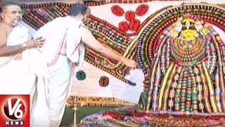 Indrakeeladri Goddess Kanakadurga Bangle (Gajula) Mahotsav