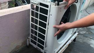 Video How to Clean Air Conditioner Outside Unit at Home    Step by Step    MP3, 3GP, MP4, WEBM, AVI, FLV Agustus 2018