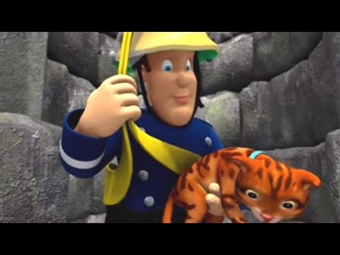 Fireman Sam   Keeping Your Cat Safe   Fireman Sam Animal Safety Tips   Videos For Kids