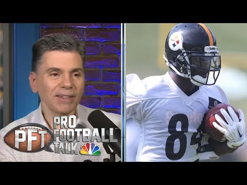 Video: Antonio Brown's best landing spots | Pro Football Talk | NBC Sports