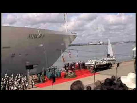 P&O Cruises Aurora Naming Ceremony
