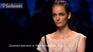 Zuzanna Bijoch: Model Talk | S/S 2013 | FashionTV