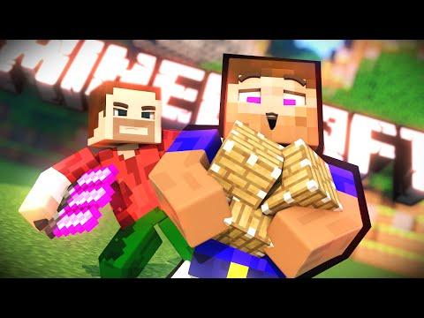 ЛАКИ БЛОК, ТЫ ЛИ ЭТО?! :D (Minecraft)