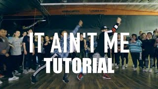 """▶ DOWNLOAD MY 'DNCR' APP -- http://bit.ly/DNCRAPP▶ 'IT AIN'T ME' DANCE VID -- https://youtu.be/vsfQix2MFQs▶ INSTAGRAM: http://instagram.com/MattSteffanina▶ TWITTER & SNAPCHAT: @MattSteffanina""""IT AIN'T ME"""" - Kygo FEAT. Selena Gomez Dance TUTORIAL  @MattSteffanina Choreography Is this video BLOCKED in your country? Find out how you can help me fix it here: https://youtu.be/BI5-VNiY5p8 SOCIALS: @MattSteffanina ▶ TUTORIALS: https://youtube.com/dancetutorialslive▶ INSTAGRAM: http://instagram.com/MattSteffanina▶ TWITTER: http://twitter.com/MattSteffanina▶ WEBSITE: http://MattSteffanina.com▶ BOOKING - MattSteffanina@gmail.com▶ HATS & SHIRTS: http://MattFreestyle.com▶ DOWNLOAD my dance app 'JusMove' for iPhone & Android » http://appsto.re/us/7cHU3.iChoreography by: Matt SteffaninaEdited by: Sam SteffaninaFilmed by: Matt Steffanina_____________________________Other Dance/Choreography VIDEOS:""""HAIR"""" - Little Mix ft Sean Paul » https://youtu.be/zO11uVycQCg""""CONTROLLA"""" - Drake » https://youtu.be/UEw20QPFov0""""WORK"""" - Rihanna » https://youtu.be/NEtt7VQwoBc""""FORMATION"""" - Beyonce » https://youtu.be/BdC8M-RVego""""LOVE YOURSELF"""" - Justin Bieber » https://youtu.be/yo_7nQ0sLsw""""SLOW MOTION"""" - Trey Songz » https://youtu.be/ymZvd-0Q_QM""""JUMPMAN"""" - Drake » https://youtu.be/qe1M2FsmgDE""""WHERE ARE U NOW"""" - Justin Bieber » https://youtu.be/H4UFObeHFwI"""
