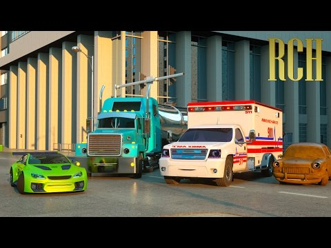 Video Florence the Ambulance and Ross the Race Car - Real City Heroes (RCH) | Videos for Children download in MP3, 3GP, MP4, WEBM, AVI, FLV January 2017