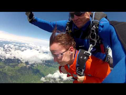 Skydive Interlaken, Sabrina Schneiter... Happy Birthday!!
