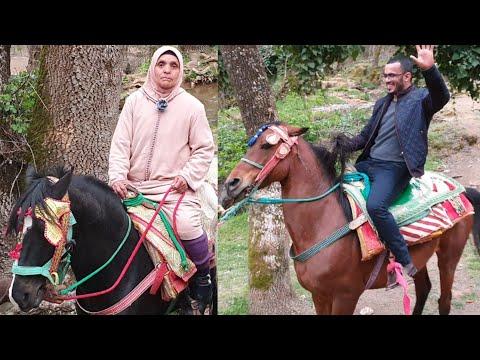 جاي على عودو كيشالي يا لالةجولة بعين فيتال مع لالة حادة بمدينة إفران
