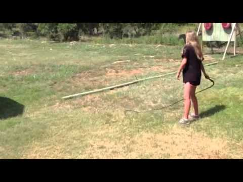 12 foot bull whip (видео)