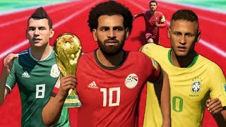 Video FASTEST PLAYERS IN THE WORLD CUP MODE! (FIFA 18 Speed Test) MP3, 3GP, MP4, WEBM, AVI, FLV Oktober 2018