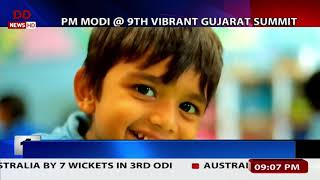PM Modi inaugurates 9th Vibrant Gujarat Summit