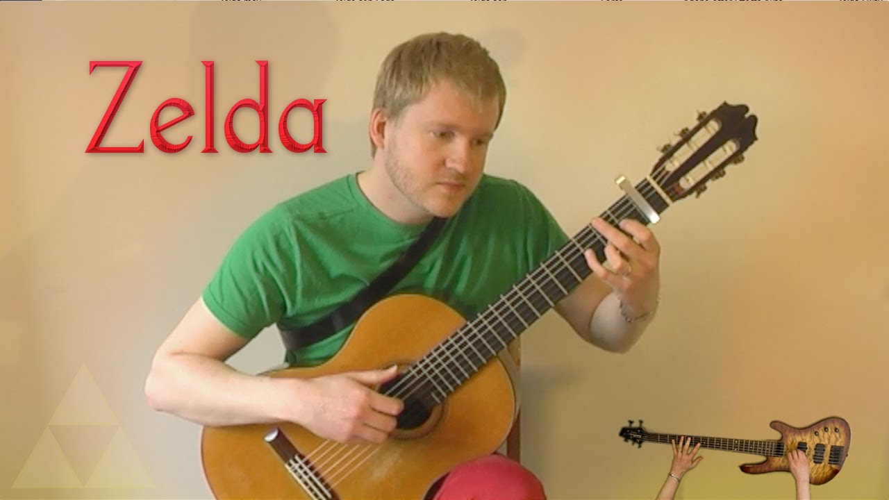 The Legend of Zelda (NES) – Title Theme (Acoustic Classical Guitar Cover by Jonas Lefvert)