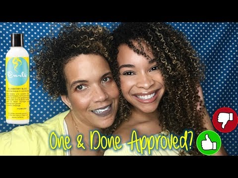 One & Done | Frizz Free Curls Blueberry Bliss Leave-In Conditioner