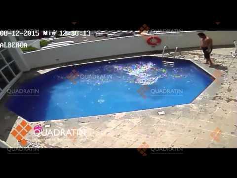 這名3歲女童離奇溺死在飯店泳池中,調閱監視器後所有人都氣到說不出話了…