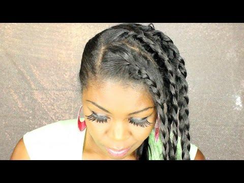 oil - Hemp seed oil - straight hair maintenance - black girl who can't braid.